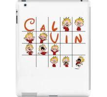 Calvin face  iPad Case/Skin