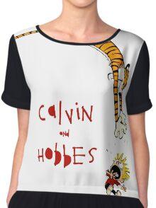 calvin and hobbes 99 Chiffon Top