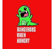 Dangerous When Hungry Photographic Print
