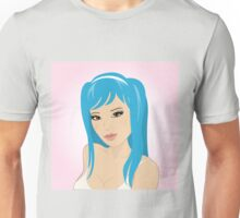 Beautiful, sexy asian girl Unisex T-Shirt