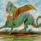 Dragon's Fire by WildestArt