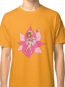 cardcaptors sakura pinkflowers Classic T-Shirt