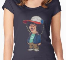 DUSTIN - S-tranger Of A T-hings T-Shirts Women's Fitted Scoop T-Shirt
