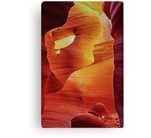 Hole In The Wall - Antelope Canyon - Arizona USA Canvas Print