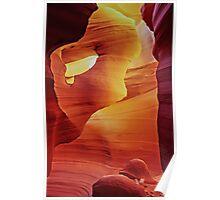 Hole In The Wall - Antelope Canyon - Arizona USA Poster