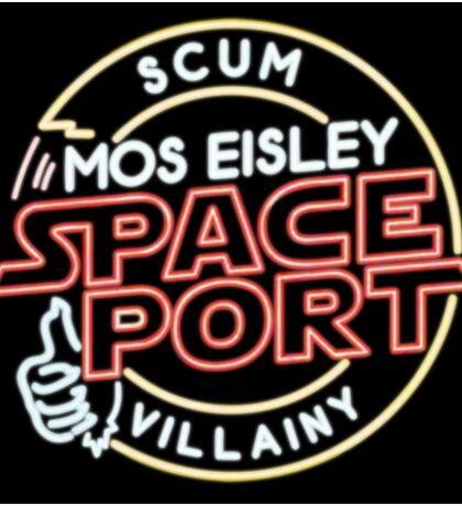 Star Wars Mos Esley neon insigna Sticker