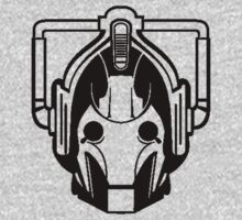 Cyberman (black) Kids Tee