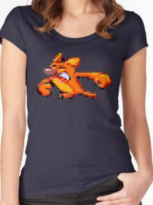 Earthworm Jim - Angry Kitty Women's Fitted Scoop T-Shirt