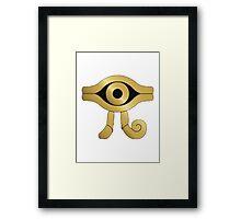 Yugioh, Millenium Symbol Framed Print