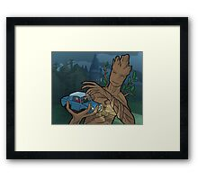 The Whomping Groot Framed Print