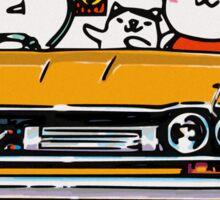 Crazy Car Art 0134 Sticker