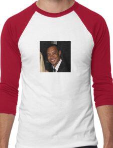 Tiger Woods - Drunk Smile Meme Funny Men's Baseball ¾ T-Shirt