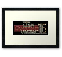 Jan Quadrant Vincent 16 Framed Print