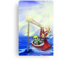 Wind Waker, Lone Ocean V2 Canvas Print
