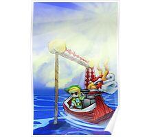 Wind Waker, Lone Ocean V2 Poster