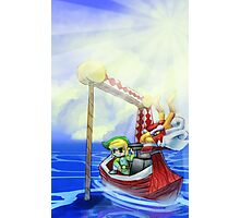 Wind Waker, Lone Ocean V2 Photographic Print