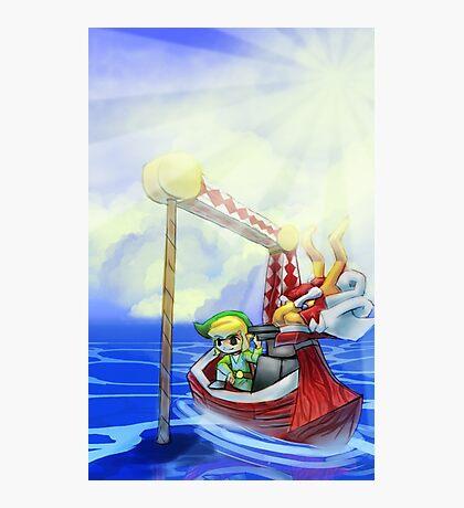 Wind Waker, Lone Ocean V2 Photographic Print