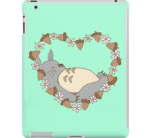 Sleeping Totoro - Green iPad Case/Skin