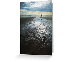 To The Sea Greeting Card