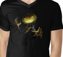 Halloween pumpkin monster costume Mens V-Neck T-Shirt
