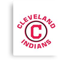 Cleveland Indians Baseball Canvas Print