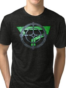 Question Mark Target Tri-blend T-Shirt