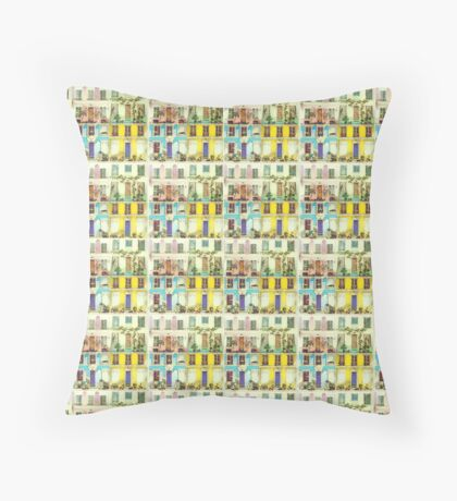 Rue Crémieux Throw Pillow