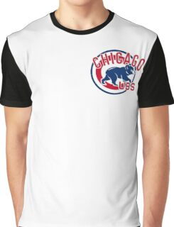 Baseball Chicago Cubs Graphic T-Shirt