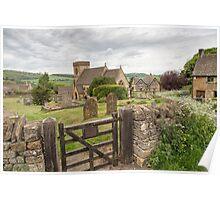 Snowshill, Gloucestershire, UK Poster