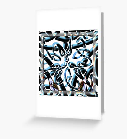 Did You Come Through the Wormhole As Well Greeting Card