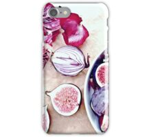 Figs And Purple Onion iPhone Case/Skin
