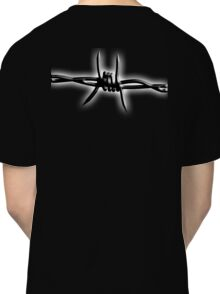 Barbed Wire, Fence, Conflict, War Classic T-Shirt