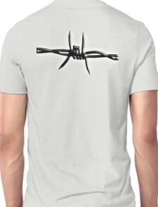 Barbed Wire, Fence, Conflict, War Unisex T-Shirt