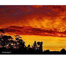 Night Sky at Somerset Photographic Print
