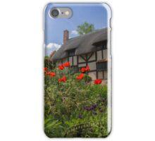 Ann Hathaway's Cottage, Stratford Upon Avon, UK iPhone Case/Skin