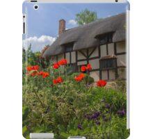 Ann Hathaway's Cottage, Stratford Upon Avon, UK iPad Case/Skin