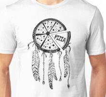 Pizza Dream Catcher Unisex T-Shirt