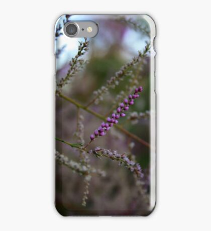 Pink Italian Flower Macro  iPhone Case/Skin