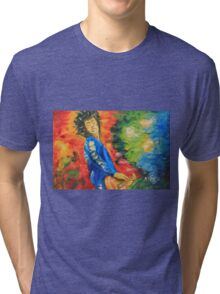 Jimmy Page#1 Tri-blend T-Shirt