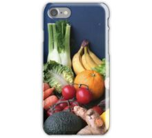 Passionately Raw Fruits And Vegetables Still Life iPhone Case/Skin