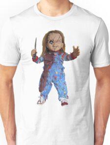 chucky, muñeca, diablos, mal, horror, Chukky, chuky, Unisex T-Shirt