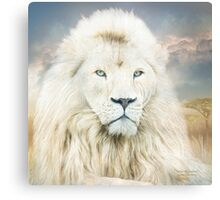 White Lion - Spirit Of Goodness Canvas Print