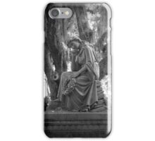 Bonaventure Cemetery Statue iPhone Case/Skin