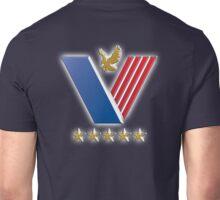 US Veterans, USA, America, American, Serviceman, Navy Blue Unisex T-Shirt