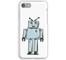 ROBOT, Line drawing, 1950s iPhone Case/Skin