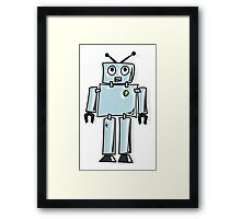 ROBOT, Line drawing, 1950s Framed Print