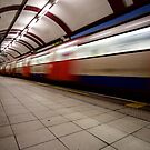 Hampstead Station by Nicholas Coates