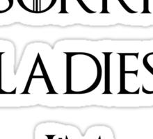 Sorry Ladies I'm Unsullied 2 Sticker