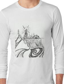 Somewhere in the Middle of The Ocean. Long Sleeve T-Shirt