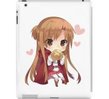 Asuna eating bread iPad Case/Skin